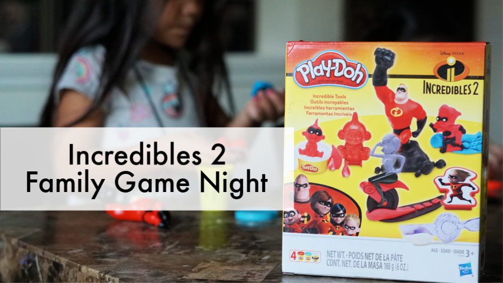 Incredibles 2 Family Game Night